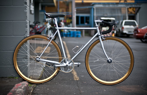 Fixed gear road bike | by Caldera Cycles