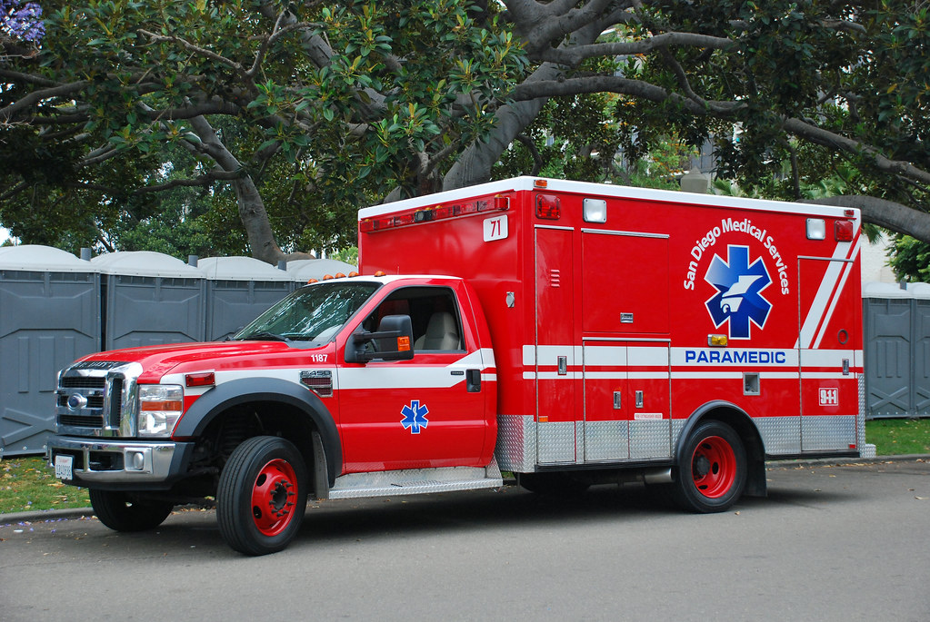 san diego ambulance | san diego medical services ford f450 a… | flickr