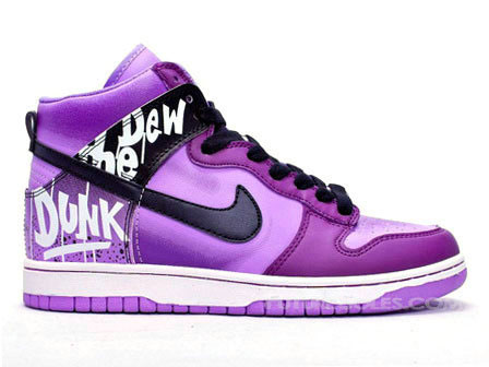 differently 76d49 0073f All sizes   Nike Dunk High Tops do the dew purple   Flickr - Photo ...