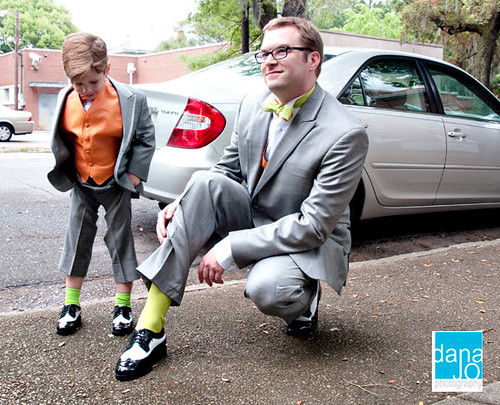Green Socks! | by seth and holly wedding