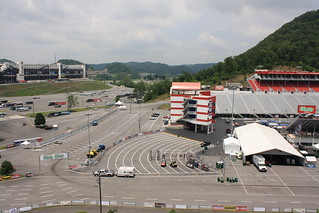 View From Medallion Camping 2 Bristol Motor Speedway