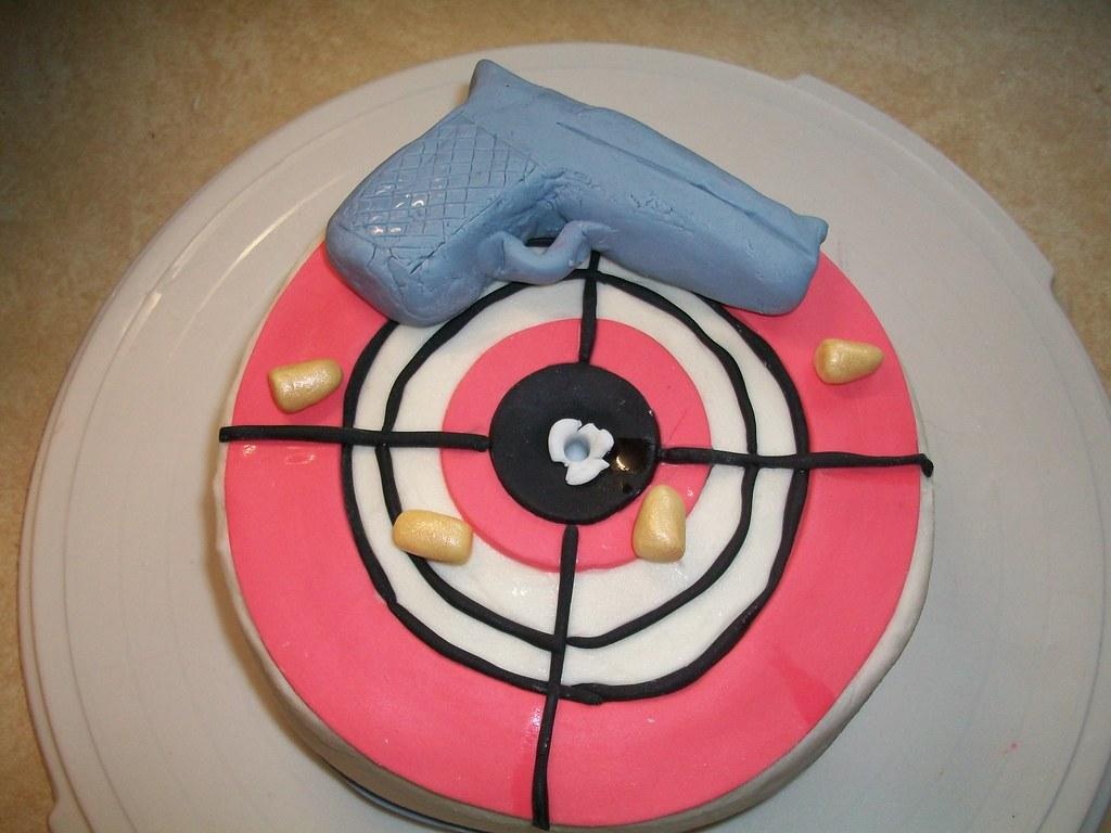Bullet Cake Pan