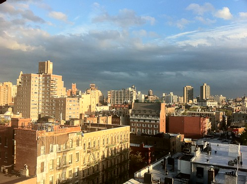 Dramatic light in NYC this evening | by scriptingnews