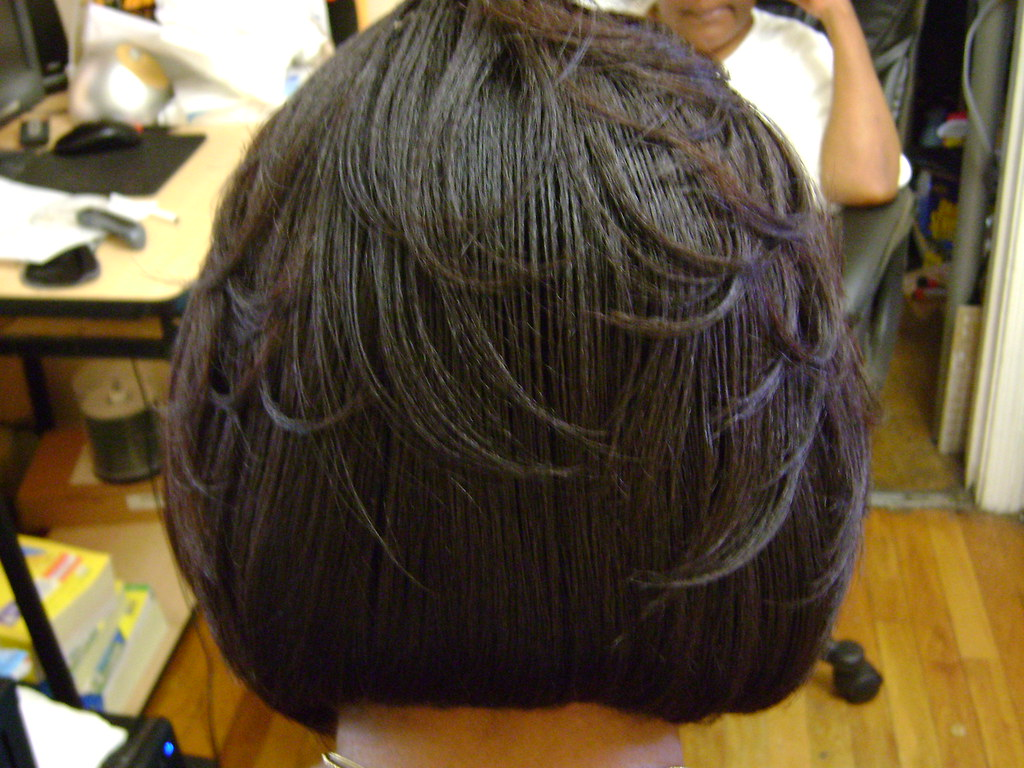new hair styles feathered bob bob haircut with layers and color 5480
