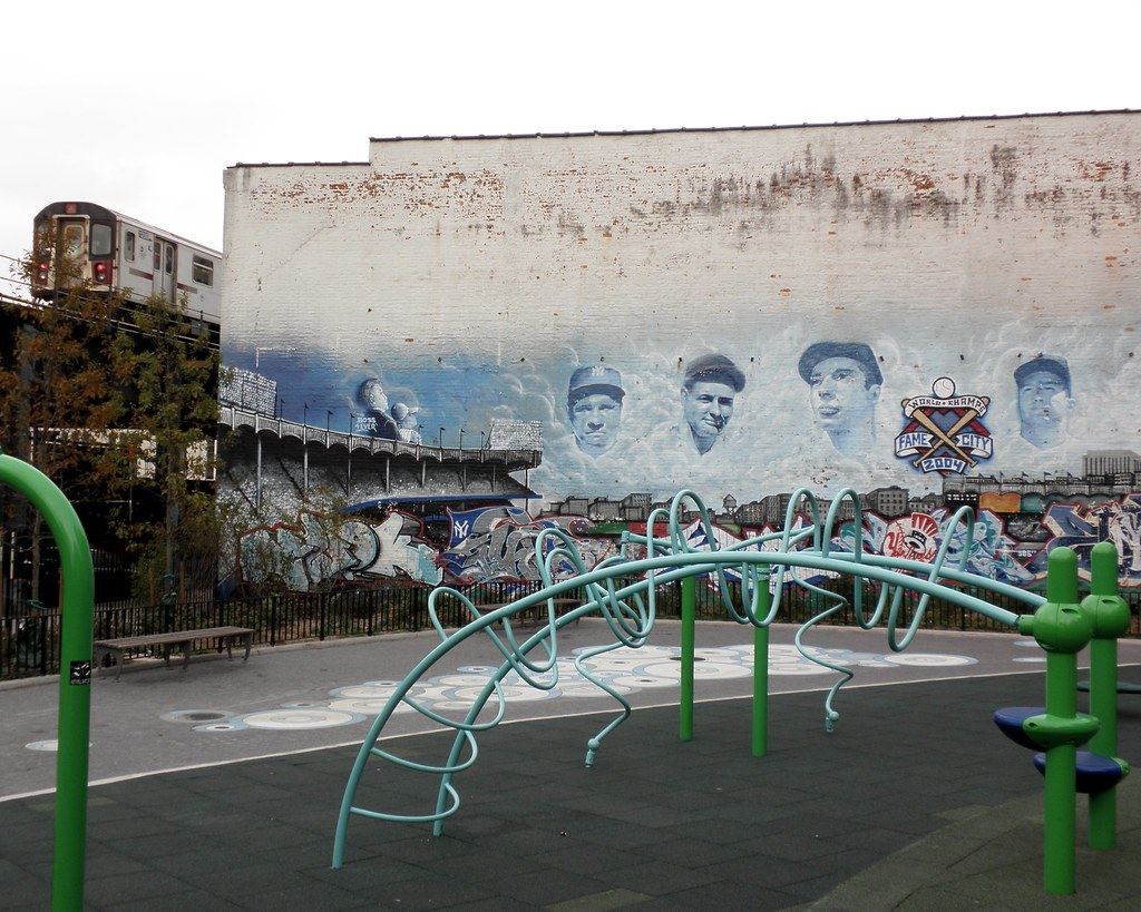Attractive ... Yankee Stadium Mural, South Bronx, New York City | By Jag9889 Part 23