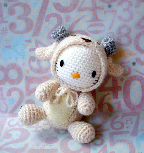Zodiac Sheep-Kitty version/ Amigurumi doll | by TGLD dolls