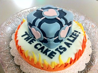 The Cake is a Lie! | by GameSpyTech