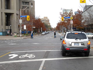Motorist ignores Toronto bike box | by James D. Schwartz