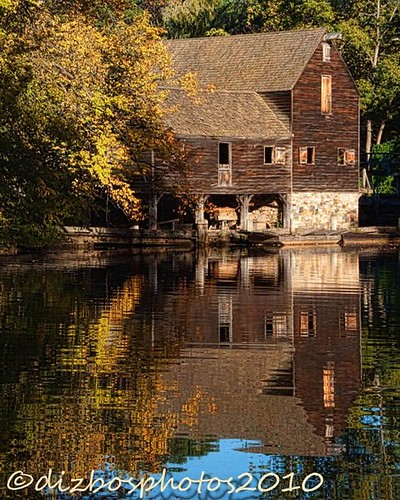 Sleepy Hollow Philipsburg Manor Sunrise: The Mill, Phillipsburg Manor, Sleepy Hollow NY