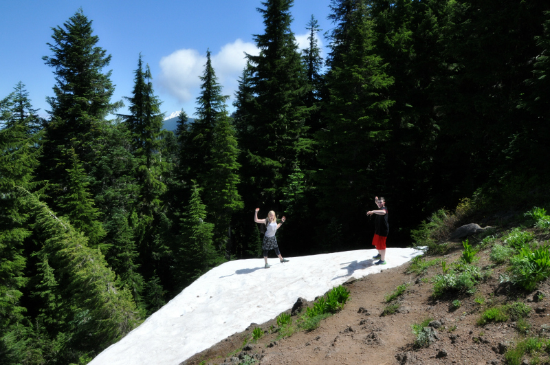 Iron Mountain Hike Snow @ Mt. Hope Chronicles