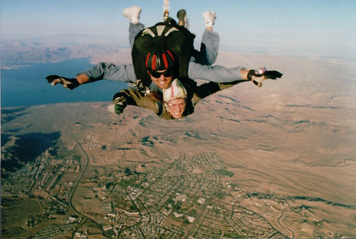 Skydiving in Las Vegas | by CarolynTNYC