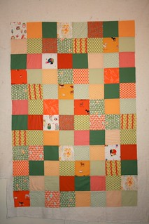 Simple Squares Baby Quilt Top | by alissahcarlton