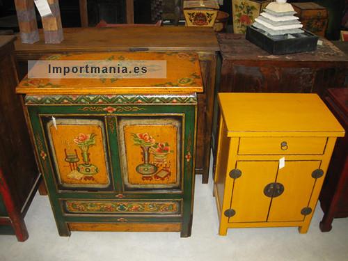 Muebles chinos y tibetanos a la izquierda mueble for Muebles chinos