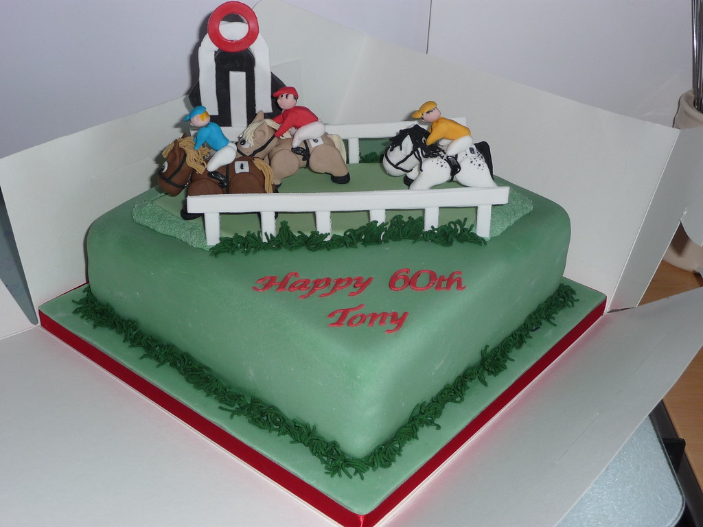 Horse Racing Horse Racing Cake Inspired By A Cake Seen