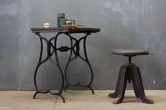 1379_19th-century-tailors-table-iron-wood2 | by ...love Maegan