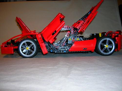 Lego Ferrari Enzo 8653 Modified I Was Slightly
