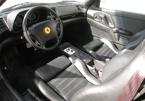 1998 Ferrari F355 Gtb Berlinetta Yellow Interior