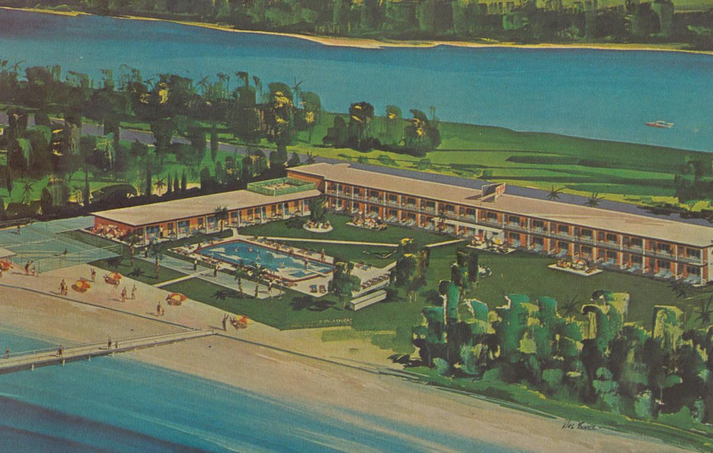 Gulf Lane Apt. Motel Boatel - Indian Rocks Beach, Florida