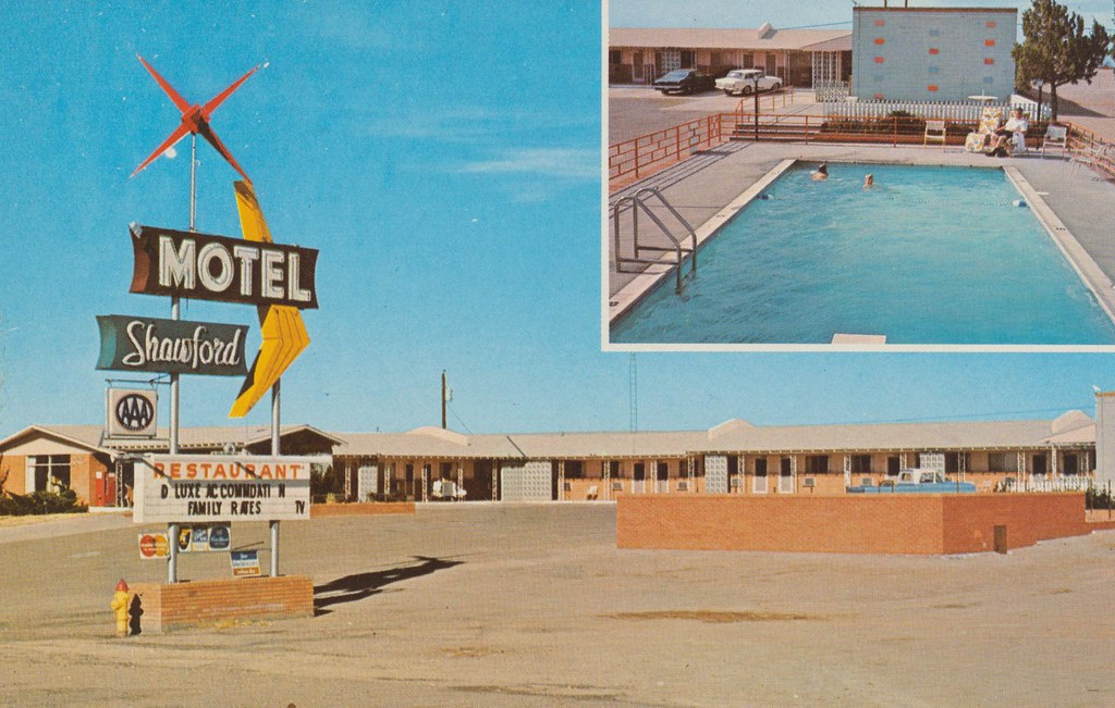 Motel Shawford - Santa Rosa, New Mexico