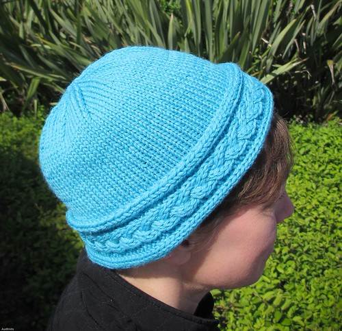 Braided Cable Hat | by AudKnits