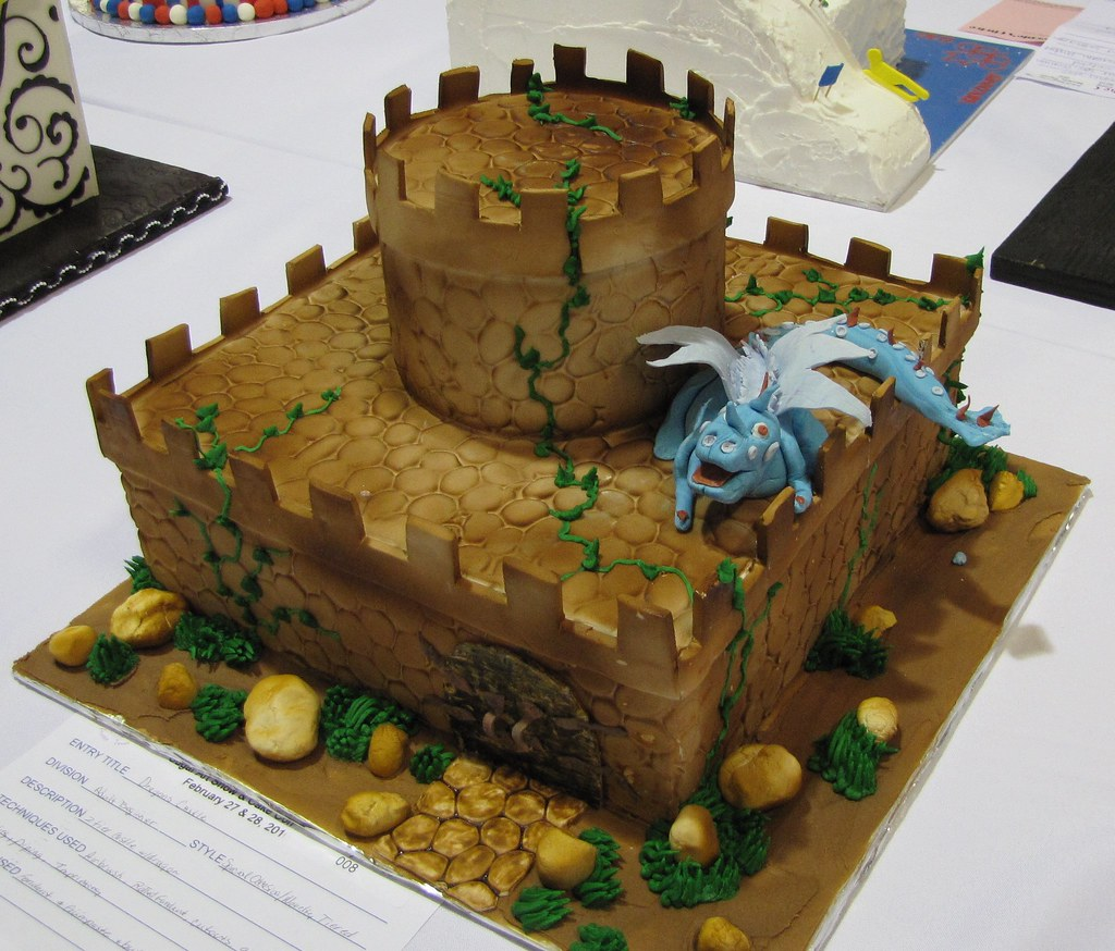 Chocolate Castle Cake Ideas