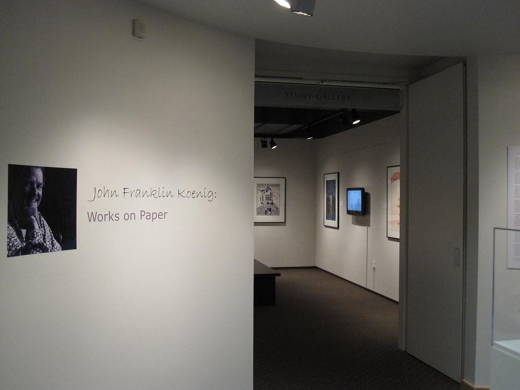 Hallie Ford Museum Of Art John Franklin Koenig Works On