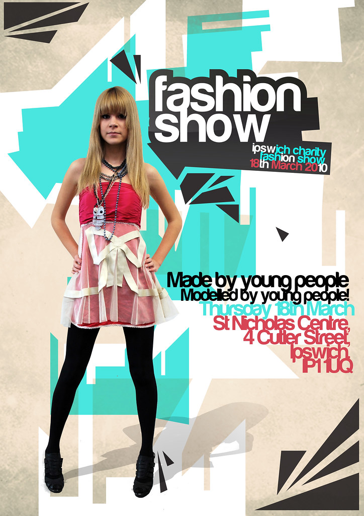 ... Poster Design | By Charity Fashion Show  Fashion Poster Design