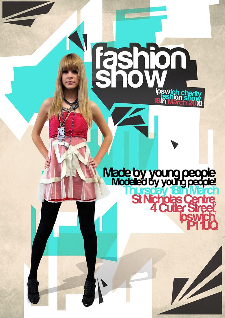 Poster Design Charity fashion show – Fashion Poster Design
