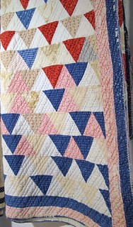Vintage Flying Geese Quilt, Glendale, KY | by amyehodge