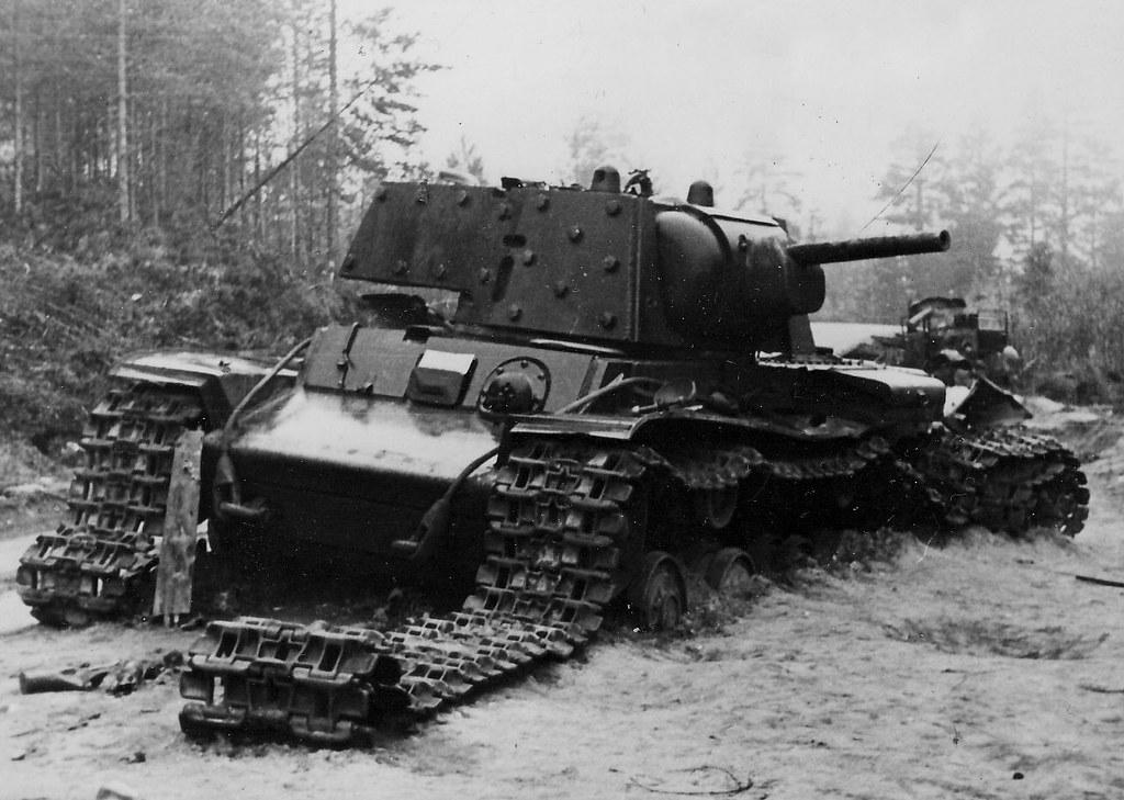 the damaged heavy tank kv 1 kareliya 1941 horst flickr. Black Bedroom Furniture Sets. Home Design Ideas