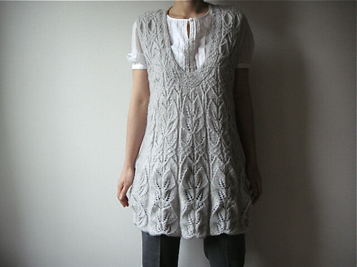 Mohair Tunic Pattern: Japanese knitting magazine