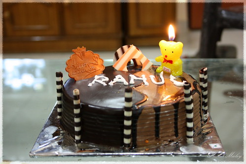 Cake Images With Rahul Name : My Birthday Cake That was delicious... Entering the new ...