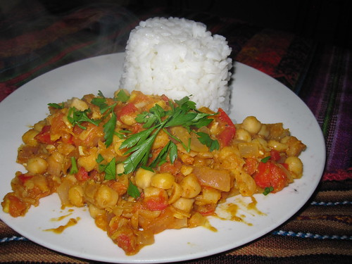 John's Chickpea Curry | by veganbackpacker