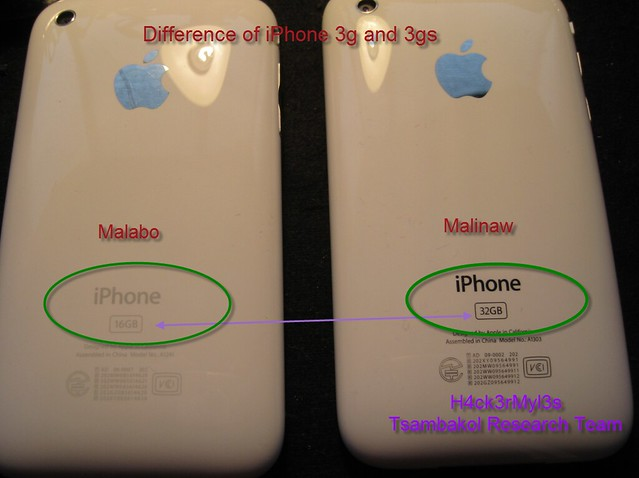 Iphone 3g And 3gs Difference