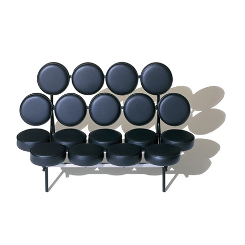 Black Nelson Marshmallow Sofa Design Year 1956 Nelson Ma Flickr