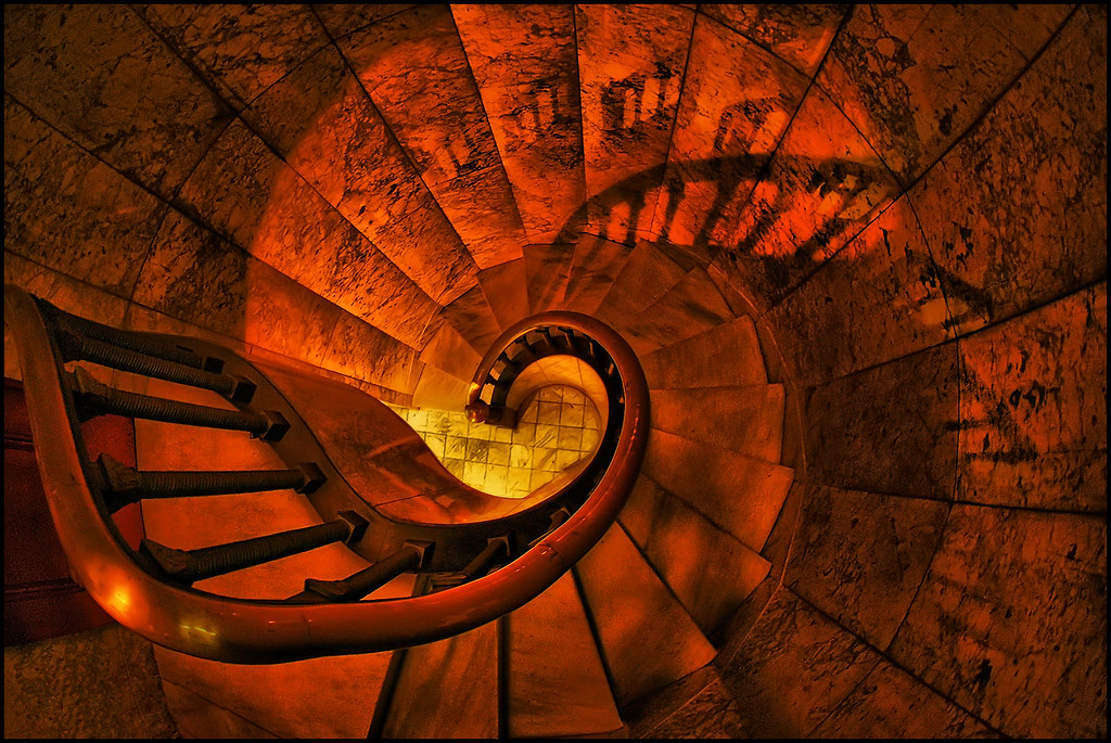 minneapolis spiral stairs lakewood cemetery This spiral Flickr