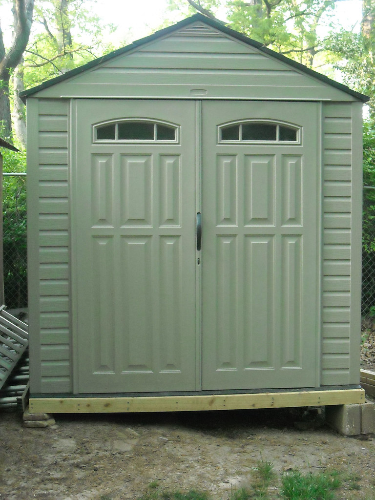 Rubbermaid Roughneck Outdoor Shed By Allison Carter Cpo