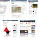 Screenshots of design blogs I like
