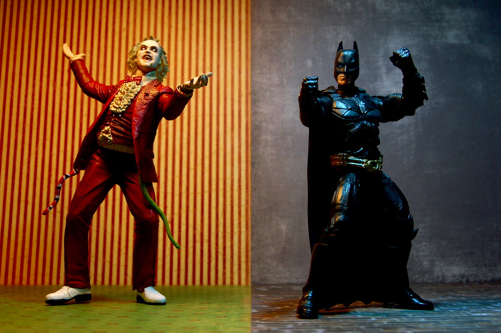 "Vs >> Beetlejuice vs. Batman (111/365)   Beetlejuice: Freelance ""b…   Flickr"