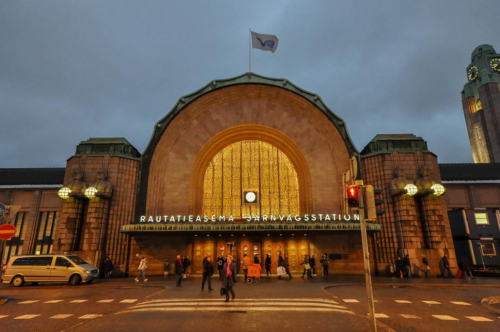 Helsingin Rautatieasema Helsinki Central Railway Station