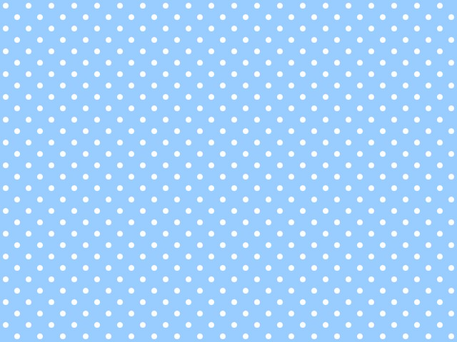 Polka-dotted background for twitter or other (Light blue ...