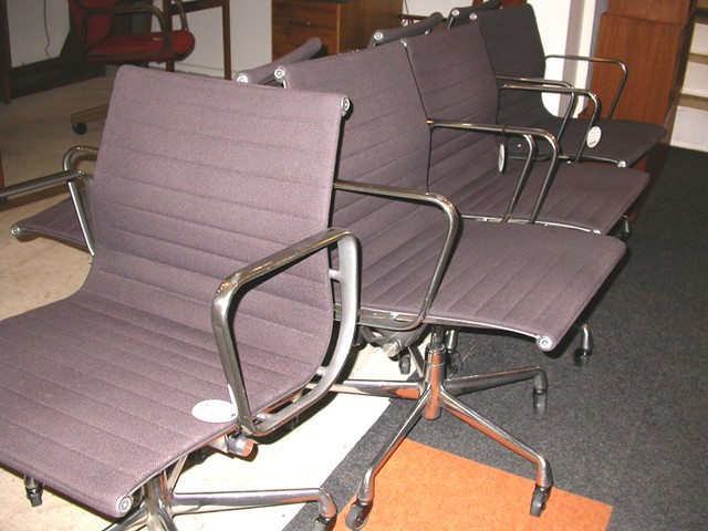 Charming ... Vintage Herman Miller Eames Aluminum Group Chairs SOLD | By Mod Livinu0027