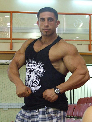 Israeli bodybuilder | muscle[spell]bound | Flickr
