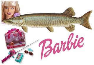 Barbie Hooks a Muskie | by Mike Licht, NotionsCapital.com