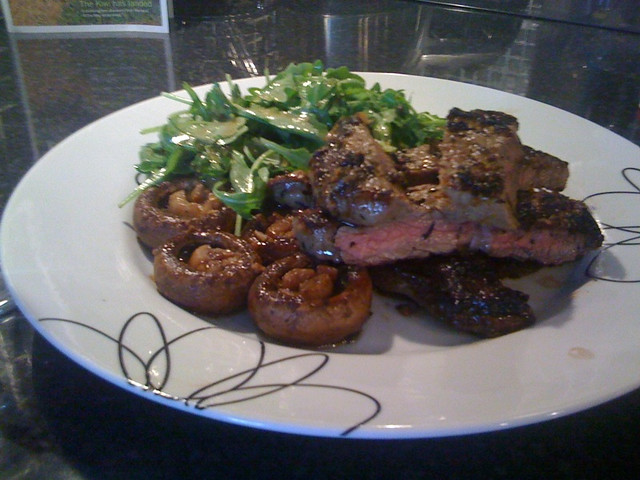 Steak And Balsamic Glazed Mushrooms Jamie Oliver Recipe