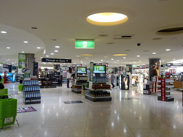 Duty Free trap at Melbourne International Airport