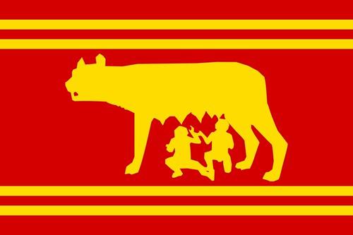 Flag of the Roman Republic   An Imaginary & Fictional Flag ...