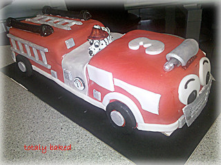 Fire Engine Cake | by Totally Baked