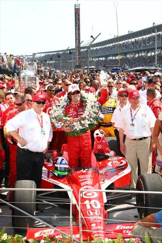 Dario Franchitti | by IndyCar Series