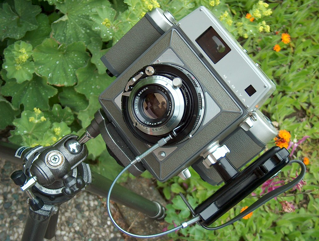 Mamiya Press 1962 6x9 Rollfilm Rangefinder Camera With